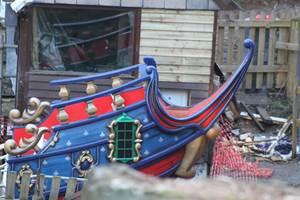 Blue Barnacle Construction, 5th December 2020, Chessington World of Adventures Resort