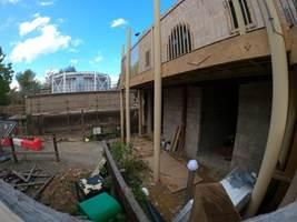 Croc Drop Construction, 1st October 2020, Chessington World of Adventures Resort