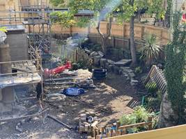 Croc Drop Construction, 1st October 2020, Chessington World of Adventures Resort