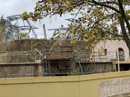 Croc Drop Construction, 1st November 2020, Chessington World of Adventures Resort