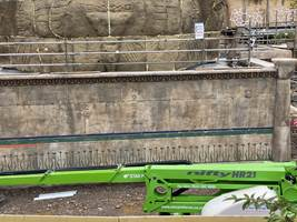 Croc Drop Construction, 1st November 2020, Chessington World of Adventures Resort