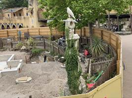 Croc Drop Construction, 2nd August 2020, Chessington World of Adventures Resort