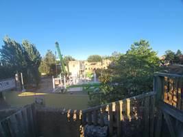 Croc Drop Construction, 4th August 2020, Chessington World of Adventures Resort
