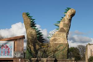Croc Drop Construction, 5th December 2020, Chessington World of Adventures Resort
