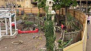 Croc Drop Construction, 15th August 2020, Chessington World of Adventures Resort
