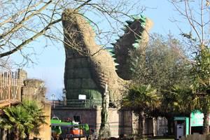 Croc Drop Construction, 19th December 2020, Chessington World of Adventures Resort