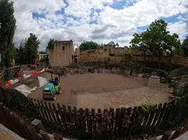 Croc Drop Construction, 20th June 2020, Chessington World of Adventures Resort
