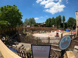 Croc Drop Construction, 25th June 2020, Chessington World of Adventures Resort